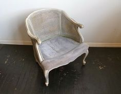 Chicago: Vintage Cane Bergere Chair ... Project $50 - http://furnishlyst.com/listings/351547