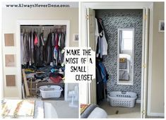 How To Make The Most Out Of A Small Closet