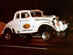 Ohio George Montgomery's Ford powered Willys Gasser!