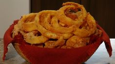 A & W ::: Zwiebelringe - creative yummy eats - Snack Recipes, Cooking Recipes, Snacks, Onion Rings Recipe, Clone Recipe, Top Secret Recipes, Yummy Eats, Restaurant Recipes, Cream Recipes