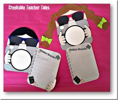Cute writing idea to start the year!