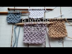 Punto de Cesta Cruzado o Diagonal en dos agujas, Knitting Basics, Knitting Help, Knitting Videos, Knitting Charts, Knitting Stitches, Knitting Patterns Free, Baby Knitting, Stitch Patterns, Crochet Patterns