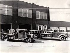 Fire Department 1930's #heritage #history #ohio #firetruck