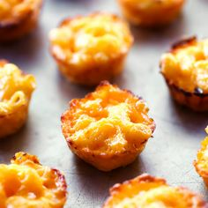 Homemade Mac and Cheese Bites Recipe with elbow macaroni, butter, flour, milk, shredded sharp cheddar cheese, cream cheese, salt, pepper, eggs