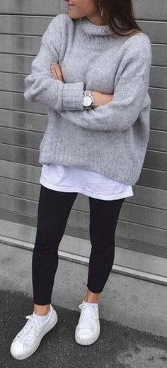 Cute Casual Back to School Outfit Ideas for 2018 Trend iDeas ? Outfits # Casual Outfits for teens dresses Cute Casual Back to School Outfit Ideas for 2018 Winter Fashion Outfits, Mode Outfits, Look Fashion, Casual Winter Outfits, Laid Back Fashion, New Year Outfit Casual, Casual Shopping Outfit, Autumn Fashion For Teens, Casual Ootd
