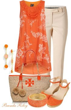A fashion look from April 2013 featuring bib shirt, short pants and orange wedge sandals. Browse and shop related looks. Fashion Mode, Look Fashion, Fashion Outfits, Womens Fashion, Fashion Trends, Feminine Fashion, Fashion News, Casual Outfits, Summer Outfits
