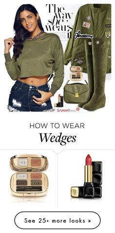 """Sammydress 23"" by adanes on Polyvore featuring Guerlain and Dolce&Gabbana"