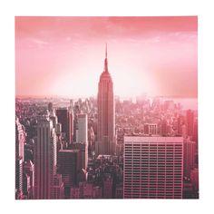 Roze CASTING doek 70 x 70 cm