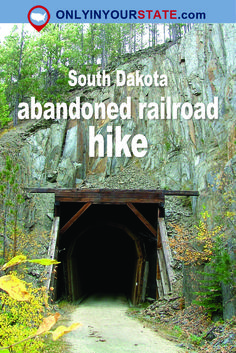 Travel | South Dakota | Attractions | Sites | Explore | Things To Do | Places To See | Hiking | Abandoned Railroad | Hikes
