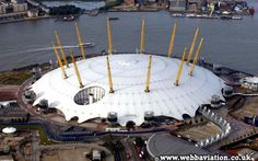 Millennium Dome, by Sir Richard Rogers List Of Sports, Male Gymnast, Tensile Structures, Richard Rodgers, 2012 Summer Olympics, Arch Architecture, Amazing Race, World Cities, Smart City