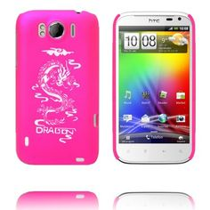 White Dragon (Het Rosa) HTC Sensation XL-Skal