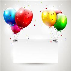 Birthday balloons with blank paper vector 02 - https://gooloc.com/birthday-balloons-with-blank-paper-vector-02/?utm_source=PN&utm_medium=gooloc77%40gmail.com&utm_campaign=SNAP%2Bfrom%2BGooLoc