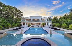 Ivanka and husband Jared 'close on a $24 million estate in ultra-exclusive Florida gated community'   Daily Mail Online Park Avenue Apartment, Indian Creek, Miami Houses, Florida, Celebrity Houses, Resort Style, Ivanka Trump, Renting A House, Night Life