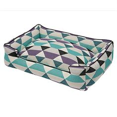 Jax & Bones Lounge Bed Origami Plum