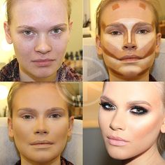 Face Contouring Tricks and Tips   Beauty Lovers