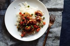 Chinese Chicken with Black Pepper Sauce recipe on Food52