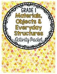 This activity pack is aligned with the Ontario Grade 1 Science curriculum. The topics that this activity pack cover are materials, objects and structures, their purposes and how humans each material, object or structure. The materials included in this pack are:- Investigation Teacher Instructions- Vocabulary Posters (colour & black/white)- Worksheets- Readings- Quiz - Word SearchThe materials presented in this pack are engaging for students and allow students to gain an understanding of t...