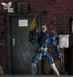 Hector Telloc ( COLLECTOR) (Marvel) Custom Action Figure
