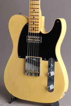エレキギター FENDER CUSTOM SHOP(フェンダーカスタムショップ) MBS 52' Esquire Relic Butterscotch Blonde Build By John English M.O.D 2005