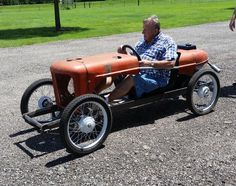 CycleKart under construction doing some road testing