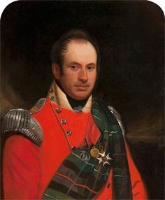Image result for 1817 Scottish colonel uniform