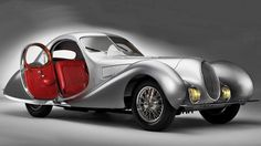 """7. 1938 Talbot-Lago T150 C SS Teardrop Coupe Yeah, it's another '30s art deco car. Don't blame us for being able to appreciate the greatest design decade of all time. The 150 C, C standing for """"Competition,"""" has the teardrop styling similar to the Bugatti 57SC Atlantic, but isn't as well known. That could be ..."""