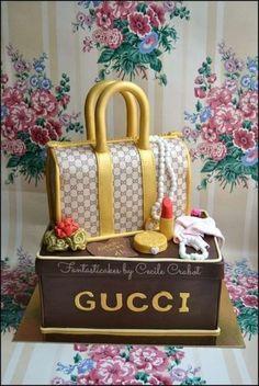 Torte di compleanno fashion - Torta compleanno Gucci