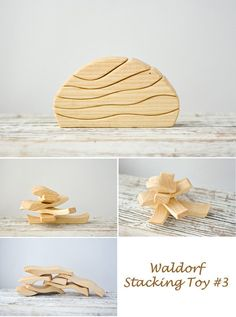 Today we love these uniquely shaped natural wooden blocks are perfect for creative and constructive play. Create unique architectural wonders along side block balancing games for hours of fun. Check …