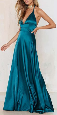 Twin Sister Grand Entrance Satin Maxi Dress
