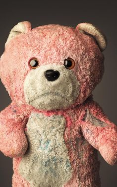 Mark Nixon's Much Loved is a collection of photographs of much beloved teddy bears and other stuffed animals.