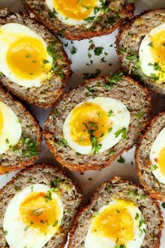 Save the recipe! Herb Recipes, Dinner Recipes, Brunch Recipes, Healthy Recipes, Breakfast Baked Potatoes, Grilled Pesto Chicken, Elegant Appetizers, Scotch Eggs, Breakfast For Dinner