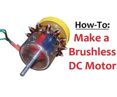This video instructable will show you how to build a brushless DC motor with minimal tools and materials. It can be done in an afternoon or less, and costs almost nothing (the materials are things that are on the edge of being garbage or not garbage if you have them laying around). I think it is rewarding and mentally stimulating to figure out things like this then prove to yourself that you can easily do it. The wiring may look confusing at first glance but you will be fine.