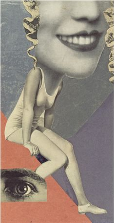 Hannah Hoch, Made for a Party, 1936