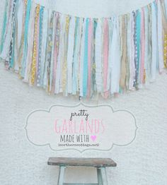 Hey, I found this really awesome Etsy listing at http://www.etsy.com/listing/174444547/custom-fabric-garland-ribbon-banner
