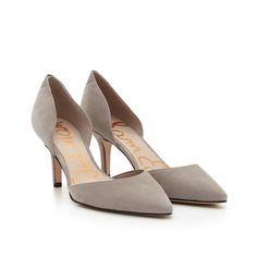 The Opal d'Orsay Mid-Heel Pump in color: Winter Sky Size: 9