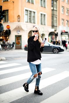 25 Ways to Style Combat Boots This Fall | StyleCaster