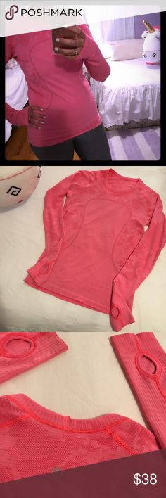 Lululemon Workout Top! Sz 6 Lululemon Workout Top! Sz 6 lululemon athletica Tops Tees - Long Sleeve