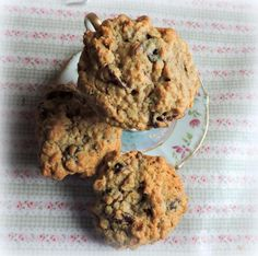 Berries and Cherries Biscuits/ Cookies from The English Kitchen