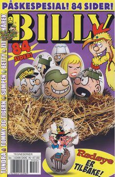 Cover for Billy (Hjemmet / Egmont, 1998 series) #6/2013