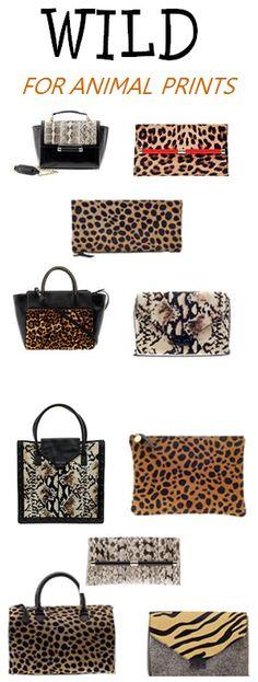 Fall Must-Haves: Fun handbags with animal prints