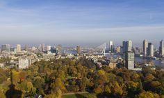 Herfst 2015, Rotterdam vanaf de Euromast