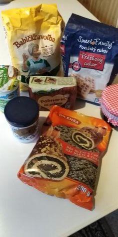 Makové minizáviny z kyslej smotany. , recept, Koláče   Tortyodmamy.sk Snack Recipes, Snacks, Chips, Food, Basket, Snack Mix Recipes, Appetizer Recipes, Appetizers, Potato Chip