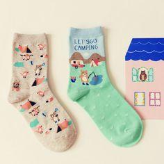 New-Caramella-Kawaii-Animal-Paradise-Socks-Funny-Korean-Women-Panda-Milk-Cow-Penguin-Polar-Bear-Sock.jpg (800×800)