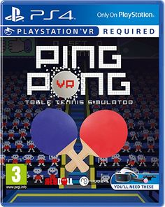 One of the PlayStation VR's most unlikely successes is coming to retail. Playstation, Ps4, Xbox Pc, Arcade, Ping Pong Table Tennis, Play Table, Lego Marvel, Jouer, Minecraft