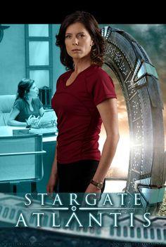 Dr. Elizabeth Weir / Stargate Atlantis poster #2 by P-DB.deviantart.com on @deviantART