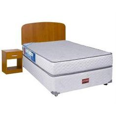 Box Spring 1 Plaza | Abcdin.cl