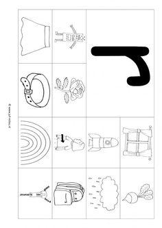 Werkbladen letter r