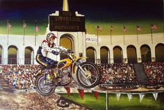 rka paintings :: Mike George 1972 Superbowl of Motocross LA Coliseum image by robkinuk - Photobucket