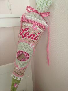 Schultüten - ★ Schultüte Zuckertüte DEKOkissen  ★ - ein Designerstück von Zuckermaeuschen bei DaWanda