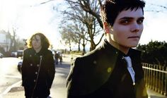 Gerard Way and Ray Toro.. Gerards so cute(: